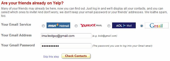Yelp Infamous OAuth Fail
